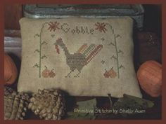 Gobble Fall/Thanksgiving Pillow Tuck