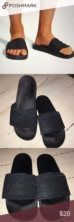 Adidas Adilette Cloudfoam Mini Slides Sz 12 Slip into pillowy-Soft comfort  with these men s d168da58e