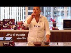 Como Temperar o Chocolate Fácil - Choque Térmico - YouTube