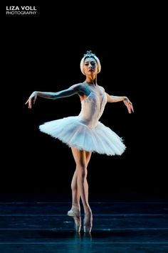 Yuan Yuan Tan as Odette from Swan Lake - photography by Lisa Voll.