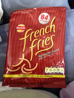 French Fries - Worcester Sauce (Walkers)
