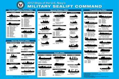 If you want to know just about every ship and sub in the U. Navy's fleet, this graphic is your guide. It's massive and awesome and actually appears to be set just a few years in the future, which makes it even cooler.