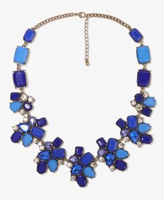 Bejeweled Medallion Collar Necklace | FOREVER21 - 1031560471  https://allmouthandtrousers.wordpress.com/