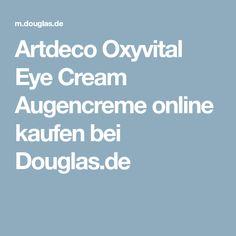 Artdeco Oxyvital Eye Cream Augencreme online kaufen bei Douglas.de