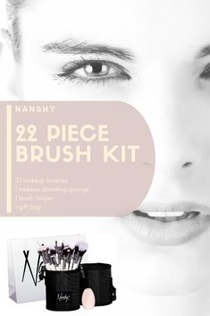 Discover the Nanshy 22 Piece Makeup Kit - Famous Last Words Day Makeup, Makeup Kit, Makeup Brushes, Cruelty Free Brushes, Competition Time, Real Techniques, Brush Kit, Famous Last Words, Full Face