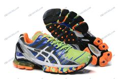 the store offical here Asics Running Shoes, Asics Shoes, Running Shoes For Men, Mens Running, Blue Orange, Blue Green, Asics Gel Kinsei, Buy Shoes, Types Of Shoes