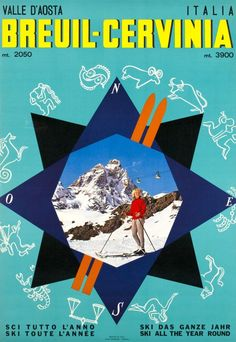 Breuil-Cervinia - Valle d'Aosta - 1966