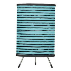 cute hipster trendy stripes brush strokes tripod lamp - patterns pattern special unique design gift idea diy