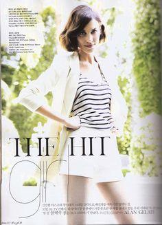 Alexa Chung for Vogue Korea June 2011