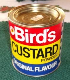 1970's Vintage Bird's Custard Powder