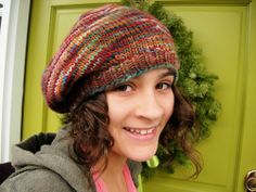 Free Pattern for Beret   one day beret (free pattern)   hats to knit or crochet