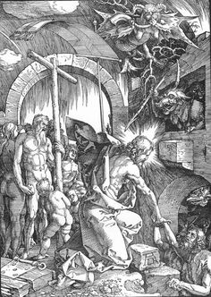 The Harrowing of Hell or Christ in Limbo, from The Large Passion (1510) - Albrecht Durer
