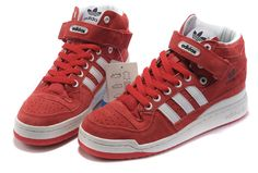 reputable site cf62e 6e456 Buy New Zealand Adidas Forum Mid Womens   Mens (unisex) Red White from  Reliable New Zealand Adidas Forum Mid Womens   Mens (unisex) Red White  suppliers.