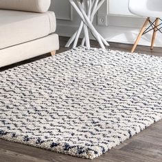 Chevron Area Rugs, Blue Area Rugs, Blue Rugs, Navy Blue Area Rug, Grey Shag Rug, Grey Rugs, Berber, Navy Rug, Navy And White Rug