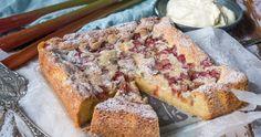 Fredriks mjuka kakor | Fredriks fika Baking Recipes, Cake Recipes, Dessert Recipes, Best Rhubarb Recipes, Rhubarb Cake, Norwegian Food, Scandinavian Food, Swedish Recipes, English Food