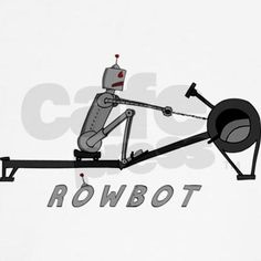 rowbot - rowing tshirt