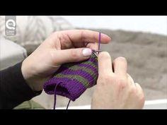 ▶ Lavora a maglia con Emma Fassio - Lavorazione In Tondo - YouTube