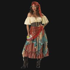 Gypsy Fortune Teller Halloween Costumes - Easy to Make