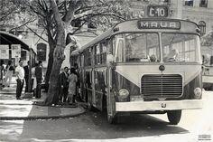 Ônibus da linha C-10, Mauá-Fátima, julho de 1966. Arquivo Nacional. Fundo Correio da Manhã. BR_RJANRIO_PH_0_FOT_01905_016.