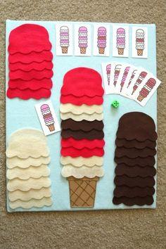 A ideia aqui é reproduzir os sorvetes de acordo com os cartões!!!A depender dos seus objetivos de uso, você pode alterar a atividade para torná-la m...