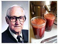 Раковые клетки умирают в течение 42 дней: Сок по рецепту от знаменитого австрийца спас 45 000 людей от рака и других неизлечимых болезней!
