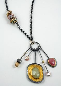 Sydney Lynch - Spring Cluster necklace