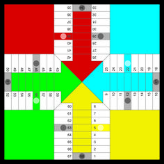 Parcheesi game to print Spanish Games, Learning Spanish, Harry Potter Monopoly, Grammar Quiz, Ludo, T 62, Printable Board Games, Board Game Design, School