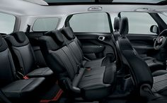 Fiat 500l MPW | Seating 7 passengers in comfort