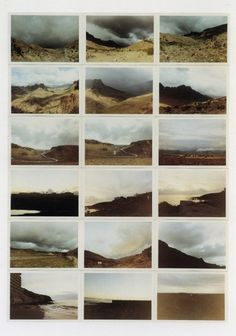 Gerhard Richter, Landschaften (Landscapes) 1969, Atlas 163