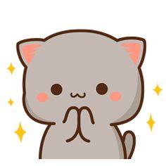 Cute Cartoon Pictures, Cartoon Profile Pics, Cute Love Cartoons, Cute Anime Cat, Cute Cat Gif, Cute Food Drawings, Cute Cartoon Drawings, Cute Love Pictures, Cute Love Gif