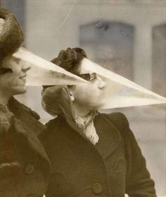 """pagan-p0etry: """" Shields to protect the face during snow storms and blizzards (Canada, 1939) """""""