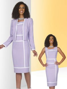 Ben Marc Executive 11374 is a two piece jacket dress that features a long sleeve…