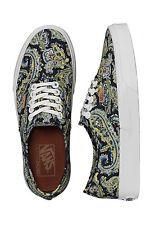 Vans AUTHENTIC + PAISLEY DRESS BLUES Skate Shoes MENS 8.5 WOMENS 10 CLASSICS NIB