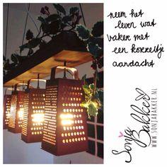 Quote: Neem het leven wat vaker met een korreltje aandacht. www.Sonjabakker.nl Table Lamp, Lighting, Paper, Tips, Home Decor, Homemade Home Decor, Table Lamps, Lights, Lightning