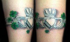 Celtic clover tattoos, celtic cross tattoos, irish tattoos, new tattoos, . Daddy Tattoos, Love Tattoos, Beautiful Tattoos, New Tattoos, Tatoos, Tribal Tattoos, Tattoos Skull, Body Art Tattoos, Henna Tattoos