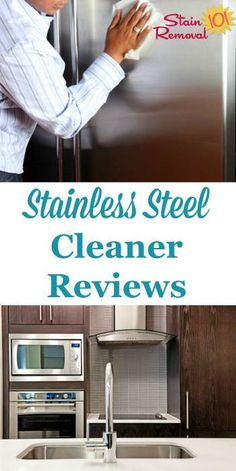 Here is a round up of stainless steel cleaners and polishes reviews, including both general and specialty products, to find out which products work best for cleaning this metal without streaks {on Stain Removal 101}