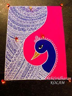 #mandala#peacock#kolam#rangoli