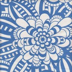 May match Anthropology rug. Alexander Henry House Designer - Fashion for the Home - Artemis in Periwinkle