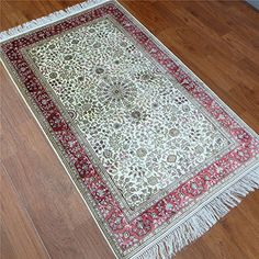 Camel Carpet Handmade 100% Pure Silk Rug Small Flooring and Carpet 3'x5'  http://www.amazon.com/dp/B01ELFSZME/ref=cm_sw_r_pi_dp_pebixb1D367M8