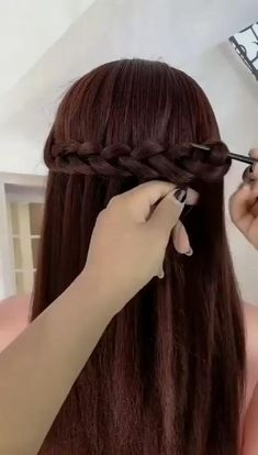 Braided Hairstyles Tutorials, Easy Hairstyles For Long Hair, Braids For Long Hair, Hairstyles Men, Hairstyle For Kids, Braid Hairstyles For Long Hair, Braided Hairstyles For Short Hair, Straight Hairstyles For Long Hair, Frozen Hairstyles