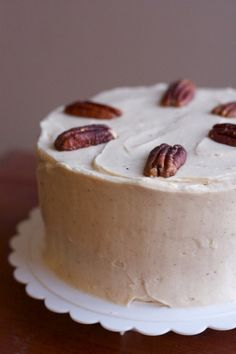 Zuccini Spice Cake with Cinnamon Cream Cheese Frosting