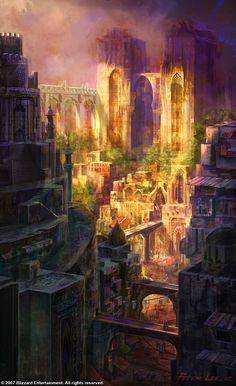 Caldeum slums - Peter Leelooks over grown but lived in