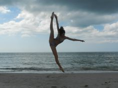 tilt jump...dancing on the beach!