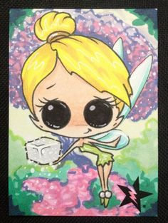 Sugar Fueled Tinker Bell Peter Pan Neverland The by Sugarfueledart