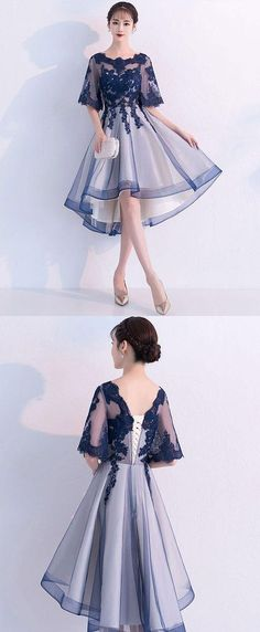 Blue lace tulle short prom dress, blue lace homecoming dress - Blue lace tulle short prom dress, blue lace homecoming dress, blue lace formal dress Source by PenguinGirlAnzu - Trendy Dresses, Sexy Dresses, Cute Dresses, Beautiful Dresses, Evening Dresses, Short Dresses, Fashion Dresses, Formal Dresses, Korean Dress Formal
