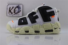 Off White x Nike Air More Uptempo Off White, Nike Air, Sneakers, Shoes, Fashion, Tennis, Moda, Slippers, Zapatos