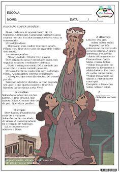 Salomão e as duas mães.