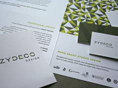 Zydeco Design business cards. Love it!