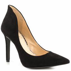 a8119c33468 Cambredge - Black Suede Black Heels