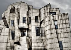 Frank Gehry designed Weisman Art Museum at the University of Minnesota